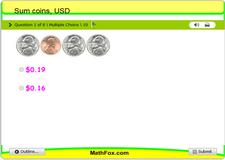 Sum coins usd