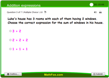 Addition expressions