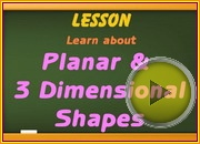 Planar 3Dimensional Shapes video