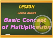 Basic Concept of Multiplication video