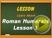 Roman Numerals 0 video