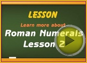 Roman Numerals 1 video