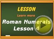 Roman Numerals 3 video