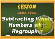 Subtracting With Regrouping video
