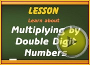Multiplying Double Digit Numbers video