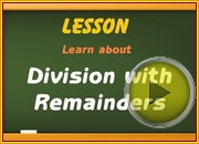 Division with remainders video