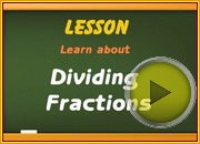 Dividing Fractions video