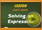 Solving Expression video