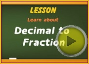 Decimal to Fraction video