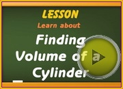 Volume of Cylinder video