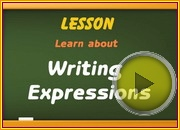 Writing Expressions video