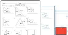 2nd grade math geometry worksheets - PDF