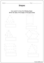 Learn to trace shapes