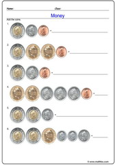Canadian dollars addition