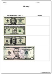 Money usd worksheet 2