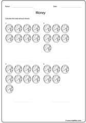 Nickel coins addition