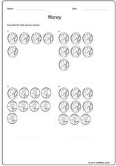 Nickel penny coins