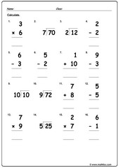Mixed operations3