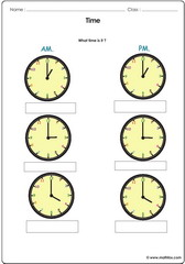 Time exact hours