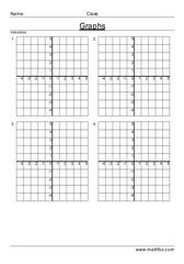 X Y coordinate practice sheet