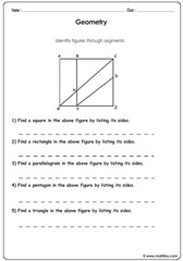 Geometry identifying segments