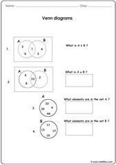Venn diagrams 2