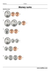 Money uscents sums