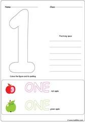 Number 1 Worksheet