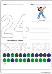 Number 24 Worksheet