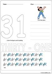 Number 31 Worksheet
