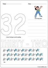 Number 32 Worksheet
