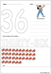 Number 36 Worksheet