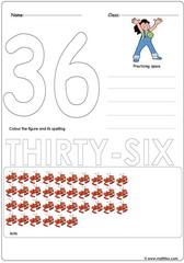 Number 36 Worksheet