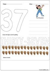 Number 37 Worksheet