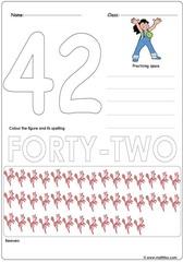 Number 42 Worksheet