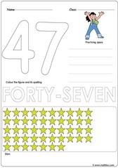 Number 47 Worksheet