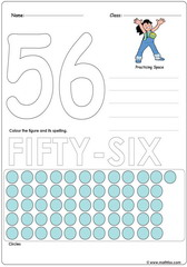 Number 56 Worksheet