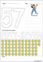 Number 57 Worksheet