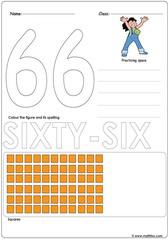 Number 66 Worksheet