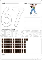 Number 67 Worksheet