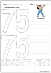 Number 75 Worksheet
