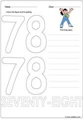 Number 78 Worksheet