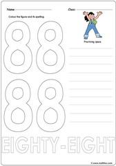 Number 88 Worksheet